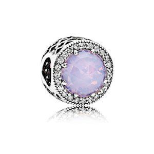 Authentic Pandora Charm Radiant Hearts Opalescent